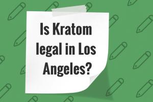 Is Kratom legal in Los Angeles?