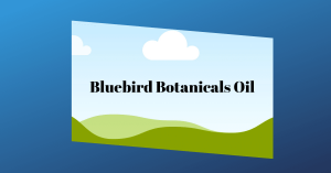 Bluebird Botanicals cbd Oil