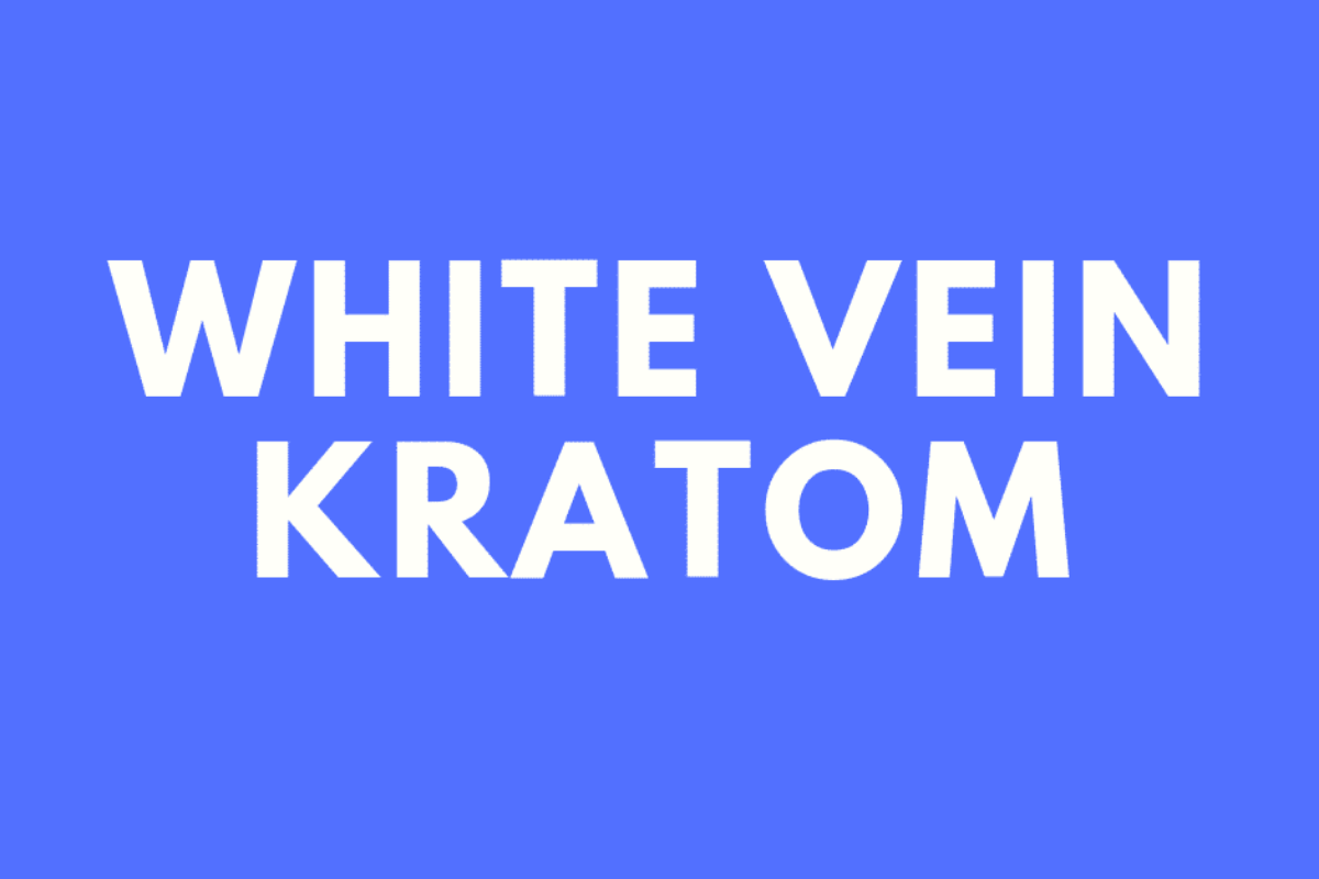 White Vein Kratom
